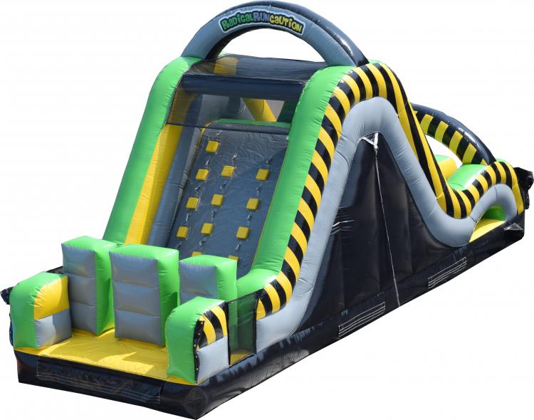 Caution Obstacle Slide